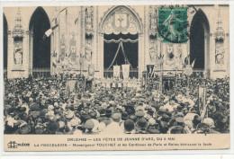 ORLEANS  Les Fêtes  De  Jeanne D´Arc  La Procession Mgr Touchet Et Les Cardinaux De Paris Et De Reims - Orleans