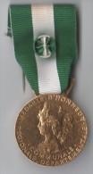 MEDAILLE D´HONNEUR COMMUNALE REGIONALE DEPARTEMENTALE REPUBLIQUE FRANCAISE, Dorée - Médailles & Décorations