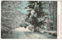 Adirondack Mts., Bloomingdale, Road In Winter - Adirondack