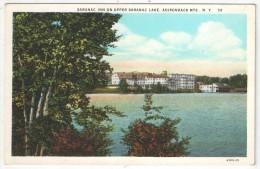 Saranac Inn On Upper Saranac Lake, Adirondack Mts., N.Y. - Adirondack