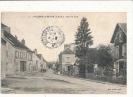 77 VILLIERS SUR MORIN RUE DE PARIS CPA BON ETAT - Sonstige Gemeinden
