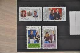 C 167 ++ ANGUILLA ROYAL WEDDING WILLIAM CATHERINE MIDDLETON MNH ** NEUF VERY FINE - Anguilla (1968-...)