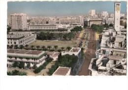 MAROC----CASABLANCA---avenue D'amade Et Place Lyautey----voir 2 Scans - Casablanca