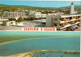 MAROC----AGADIR---vue Panoramique--voir 2 Scans - Agadir