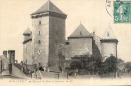 Annecy  Le Chateau Desc Dues Genevois 1910 - Annecy