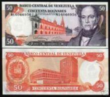 Venezuela 50 Bolivares 1992 Pick 65d UNC - Venezuela