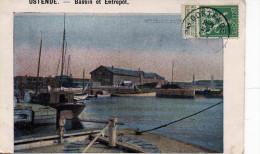 Ostende. Bassin Et Entrepôt - Oostende
