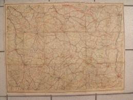 Carte De L'est De La France. Vers 1900. Taride - Callejero