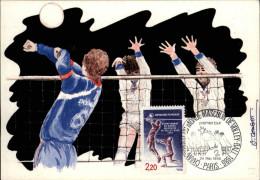 SPORTS - VOLLEY - Carte Premier Jour - Carte Philatélique - - Volleyball