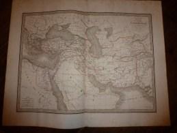 1832 Carte De L' EMPIRE D' ALEXANDRE ),par Lapie 1er Géographe Du Roi, Gravure Lallemand,Chez Eymery Fruger & Cie - Geographical Maps