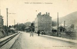 CPA 63 LE CHAMBON TRABLAINE 1912 - Otros Municipios