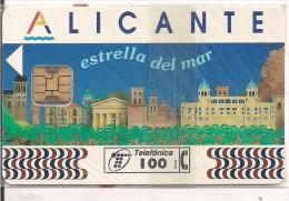 ALICANE ESTRELLA DEL MAR  SPAIN Tirada 8000 - Tarjetas Telefónicas