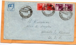 Italy 1948 Cover Mailed To USA - 6. 1946-.. Repubblica