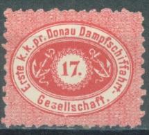 AUSTRIA DDSG DONAU - 1867 - (*) SANS GOMME WITHOUT GUM - Yv 1 Mi 1B PERF 9 1/2 - Lot 11519 - Levant Autrichien