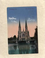 52451    Germania,   Strassburg I. Els.,  Neue  Evangel.  Kirche,  VG  1926 - Elsass