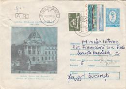 14716- MEDICINE,BUCHAREST COLTEA HOSPITAL, COVER STATIONERY, 1980, ROMANIA - Medicina