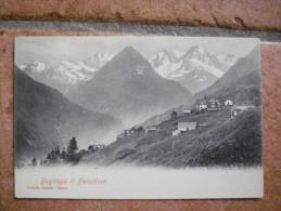 Cartolina F.piccolo TRASQUERA VERBANIA VARZO BUGLIAGA IL FLETSCHORN Non Viaggiata - Verbania