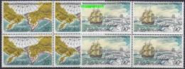 Norfolk Islands 1978 Voyages Of Captain Cook 2v Bl Of 4 ** Mnh (20243) - Norfolk Eiland
