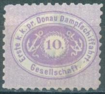 AUSTRIA DDSG DONAU - 1866 - MH/* - Yv 2 Mi 2 - Lot 11520 - UN PEU AMINCI - BAD HINGED - Levant Autrichien