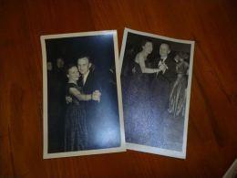 BC10-2-100-4 LC111 2 Cartes Photos Bal Danse Danseurs Toilettes Robe - Non Classés