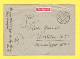 Old Letter - Germany, Deutsches Reich, Feldpost - Germany