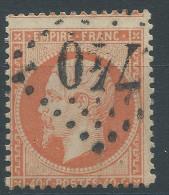 Lot N°27783     Variété/n°23, Oblit GC 740 CARPENTRAS (86), Piquage - 1862 Napoleon III