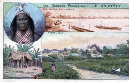 Les Colonies Francaises. Le Dahomey. Pubblicitaria Di Chocolats & The De La Cie. Coloniale - Dahomey