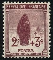 FRANCE 1917 - Yv. 148 *   Cote= 5,00 EUR - Orphelins De Guerre  ..Réf.FRA26661 - Francia