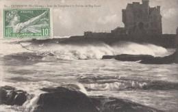 Y&T N° 183 Et 184 Seuls Sur Cpa - FRANCO DE PORT - Marcophilie (Lettres)