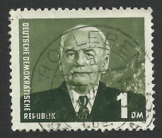 DDR, 1 dm. 1953, Sc # 120, Mi # 342, used