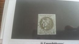 LOT 249669 TIMBRE DE FRANCE OBLITERE N�39B VALEUR 200 EUROS