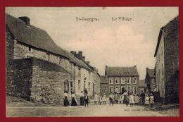 Saint-Georges - Le village - Belle vue tr�s anim�e - 2 scans
