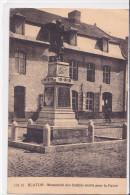 BLATON : Monument Des Soldats Morts Pour La Patrie - Bernissart