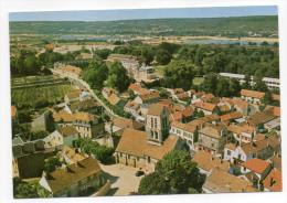 VERNEUIL SUR SEINE-- Vue Générale  (aérienne) ,cpsm 15 X 10 N° 9000  éd LYNA----pas Très Courante - Verneuil Sur Seine