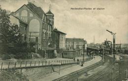 BELGIQUE - LIEGE - LONZEN - HERBESTHAL - Postes Et Station. - Lontzen
