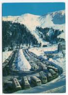LE MONT DORE--Les Parkings Au Pied Du Sancy (beaux Autocars),cpsm 15 X 10 N° 63 A 24 éd André - Bus & Autocars