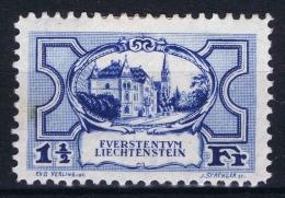 LIECHTENSTEIN  Nr 71 MH/*  Brown Spot In Gum - Liechtenstein