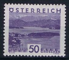 Osterreich-1929 Mi 508 Falz MH/*   Perfo 12.50     1929 (GF) - 1918-1945 1st Republic