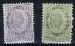 Osterreich - 1896  Mi nr 67 - 68 MNH/**   Postfrisch
