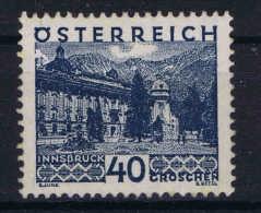 Osterreich - 1929  Mi Nr   507 Not Used (*) - 1918-1945 1st Republic