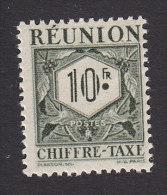 Reunion, Scott #J34, Mint Hinged, Postage Due, Issued 1947 - Réunion (1852-1975)