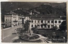 Bellinzona Piazza Governo Viaggiata 1948 - Svizzera