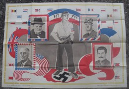 Affiche FFI Vendu Au Profit Du Mouvement De Liberation Nationale Ex Mur 3 Scanns - 1939-45