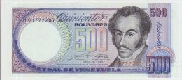 Venezuela 500 Bolivares 1990 Pick 67d UNC - Venezuela