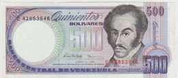 Venezuela 500 Bolivares 1995 Pick 67e UNC - Venezuela