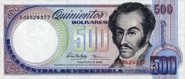 Venezuela 500 Bolivares 1998 Pick 67f UNC - Venezuela