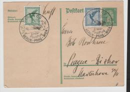 W-L070/ PostflugBerlin - Wien - Zwischenstopp In Prag, 1927 - Briefe U. Dokumente