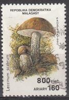 Madagascar, 1990 - 800fr Leccinum Scabrum - Nr.1001H Usato° - Madagascar (1960-...)