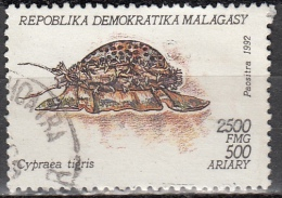 Madagascar, 1993 - 2500fr Cypraea Tigris - Nr.1128 Usato° - Madagascar (1960-...)
