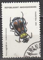 Madagascar, 1994 - 20fr Necrophorus Tomentosus - Nr.1216 Usato° - Madagascar (1960-...)